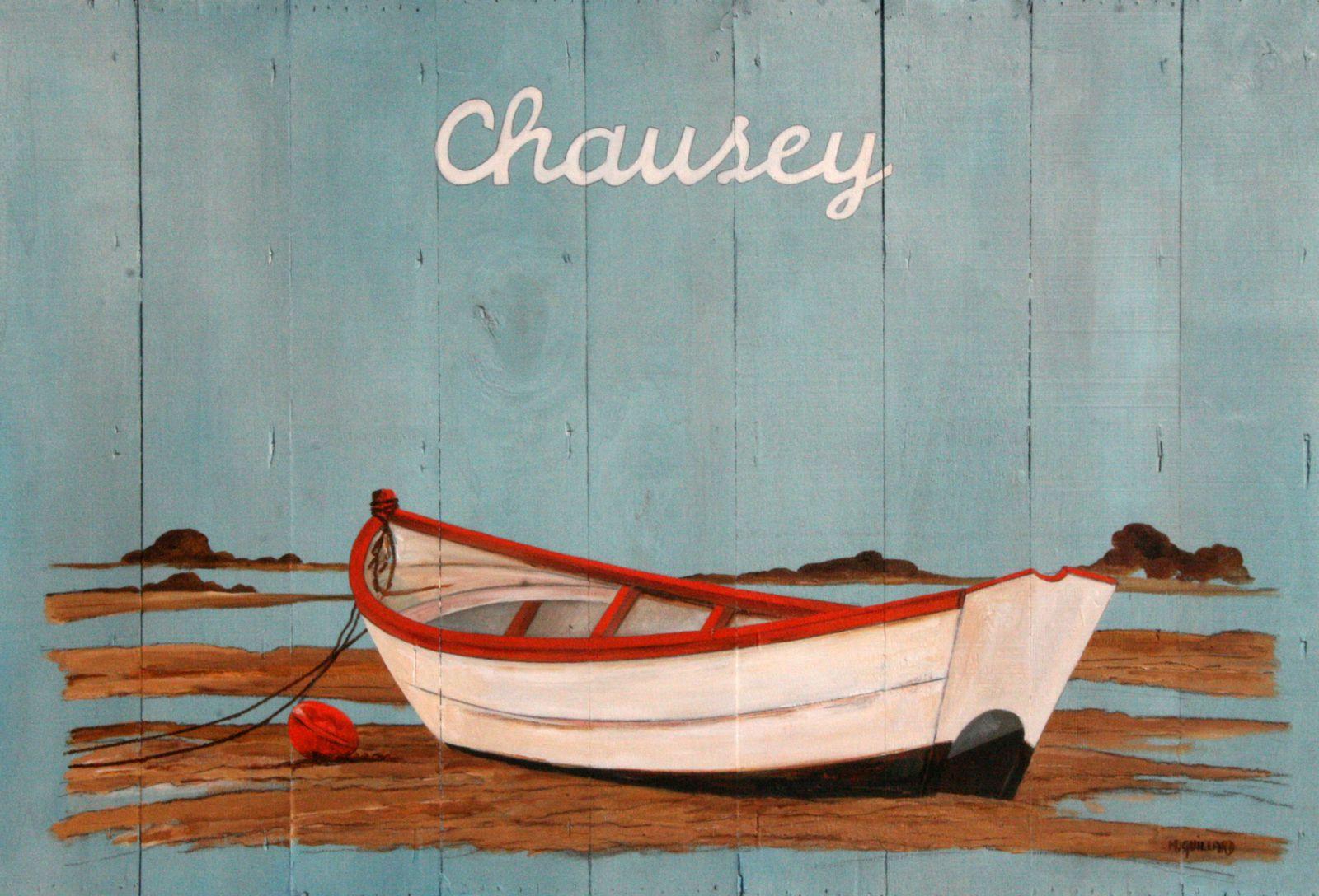 Chausey ou doris chausey peinture acrylique sur bois michelguillard artiste peintre - Peinture acrylique sur bois ...