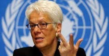ضربة جديدة لأوباما : مسؤولة بلجنة الأمم المتحدة : المتمردون هم من استخدموا غاز الأعصاب وليس نظام الأسد في سورية - See more at: http://egyptiannews.net/2013/08/26/887734.html#sthash.zxHyGBhr.dpuf