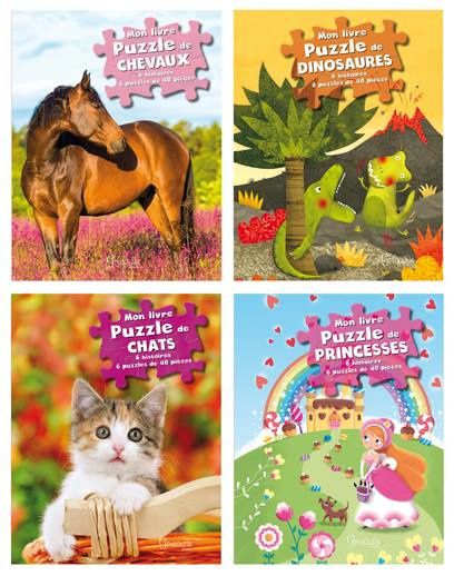 Parution de mes livres puzzles chez Grenouille éditions