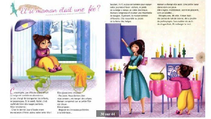 &quot&#x3B;Et si maman était une fée ?&quot&#x3B; dans le magazine La fée Clochette n°30