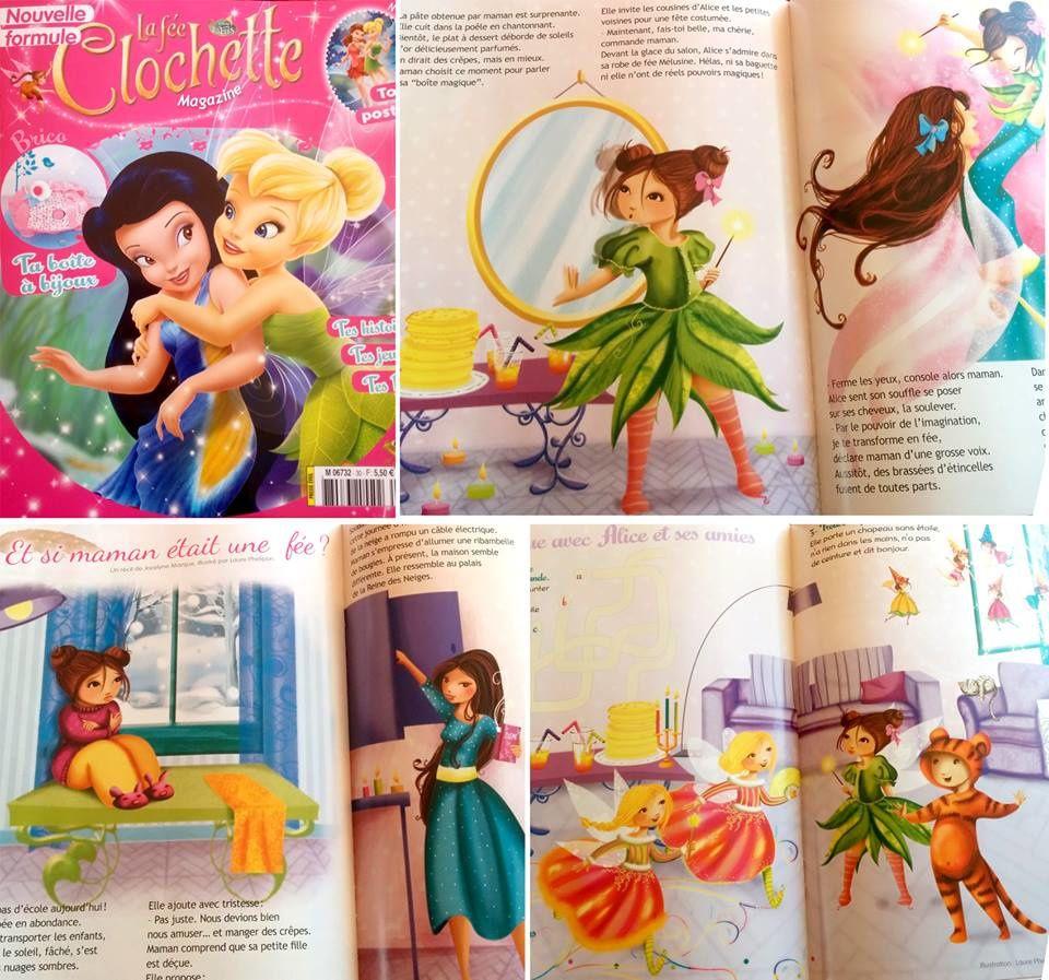 Thème Chandeleur : &quot&#x3B;Et si maman était une fée ?&quot&#x3B; dans le magazine La fée Clochette n°30