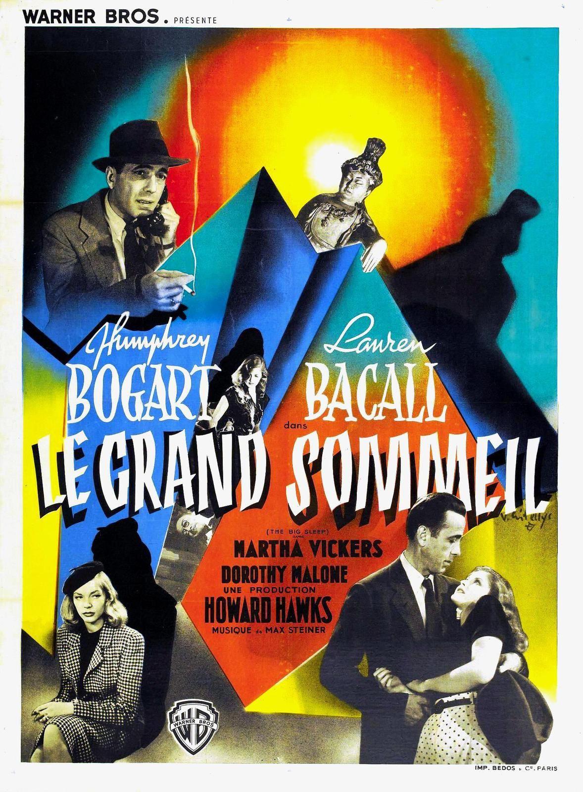 17 Août-0h35 : Hommage à Lauren Bacall : Le Grand Sommeil