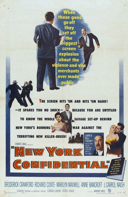 Dimanche 12 Janvier-0h15 : Films Noirs : New York Confidential