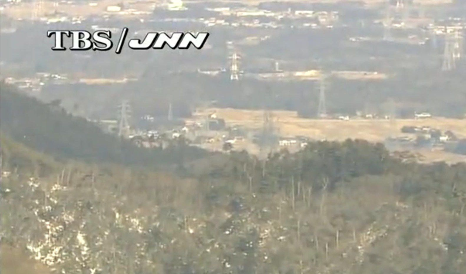 La webcam TBS/JNN surveille la centrale de Fukushima Daiichi