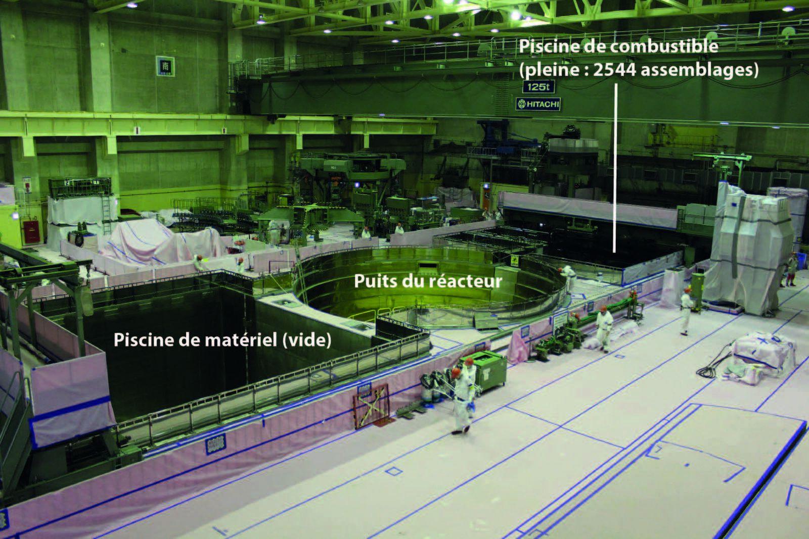 Piscine de Fukushima Daini : c'est beau, c'est propre, mais c'est extrêmement dangereux