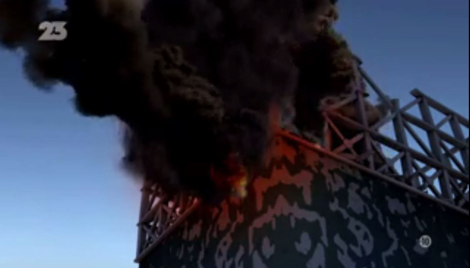 Incendie de l'unité 1 de Fukushima Daiichi qui n'a jamais eu lieu (capture d'écran du film « Accident nucléaire de Fukushima » de Steve Webb