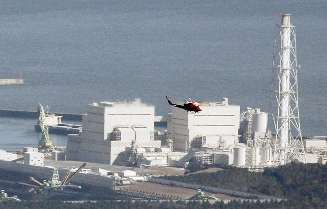 Une centrale nucléaire en bord de côte (Source : Kim Kyung-Hoon/Reuters)