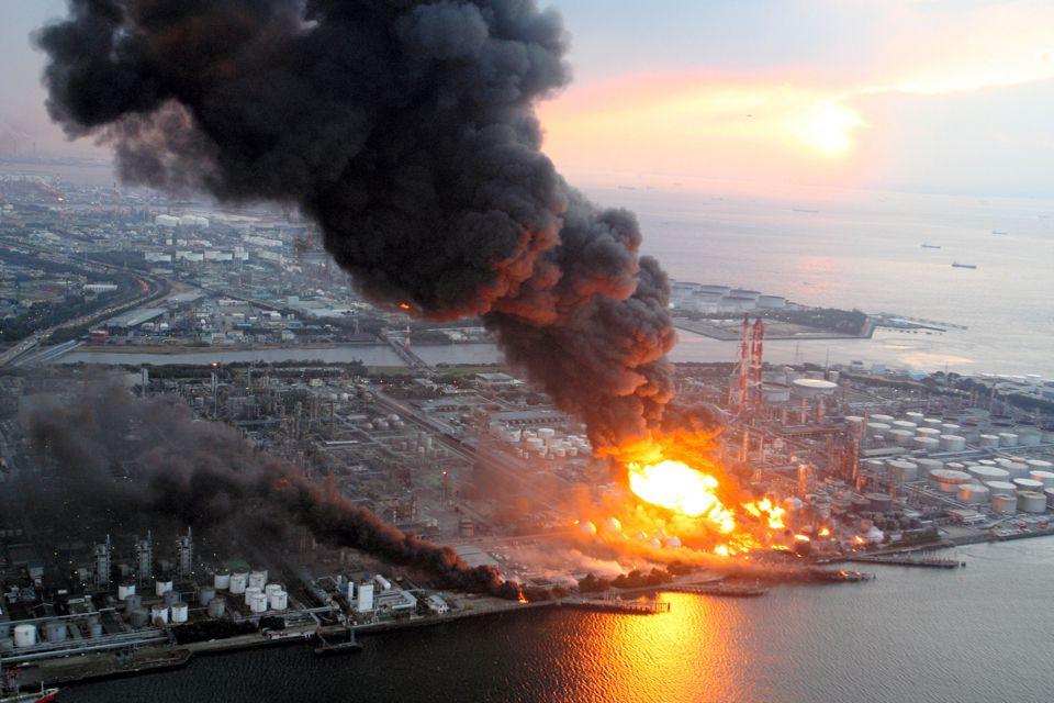 Raffinerie d'Ichihara (Source : news.ifeng.com)
