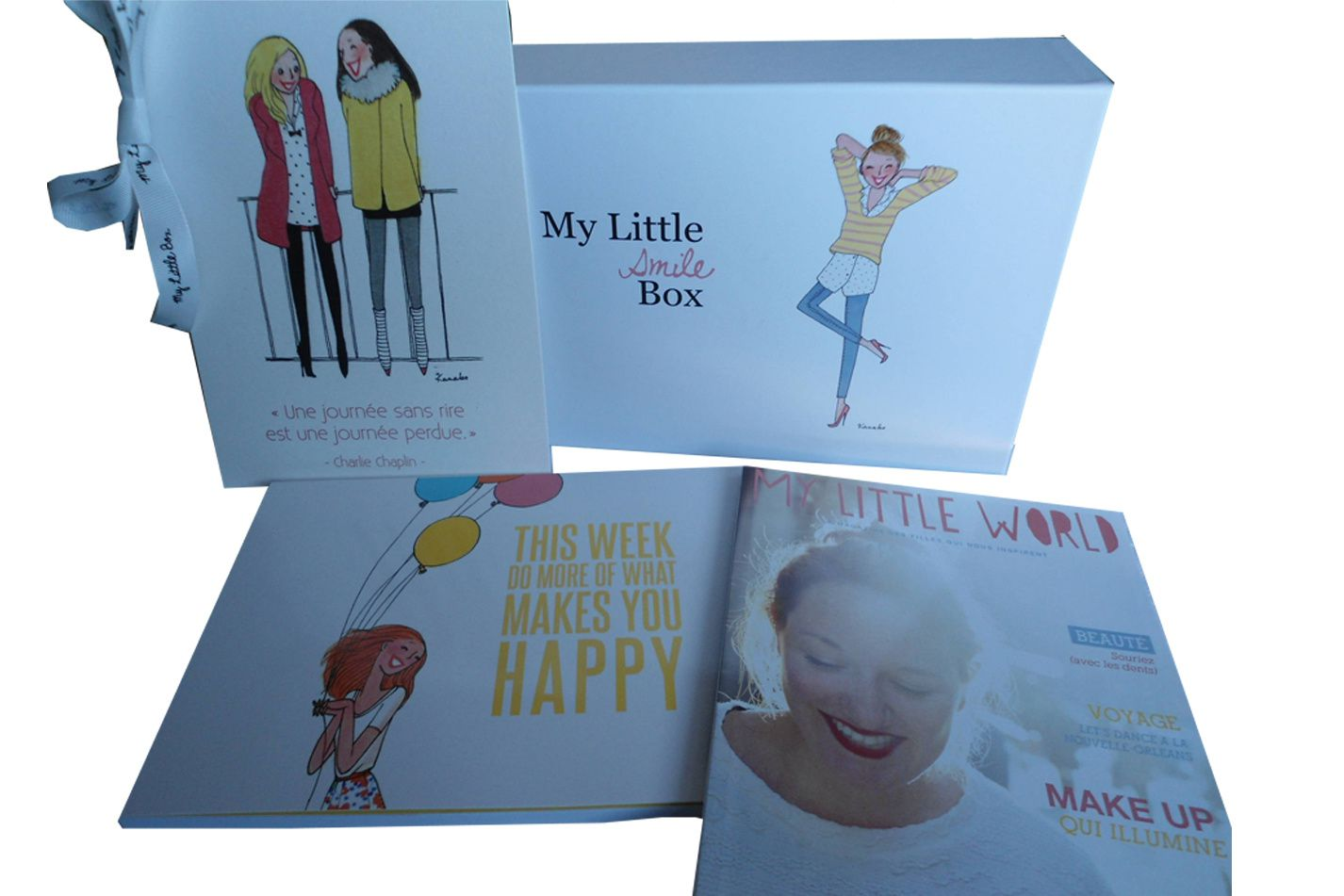 MY LITTLE BOX de janvier 2014 &quot&#x3B;My Smile Box&quot&#x3B;