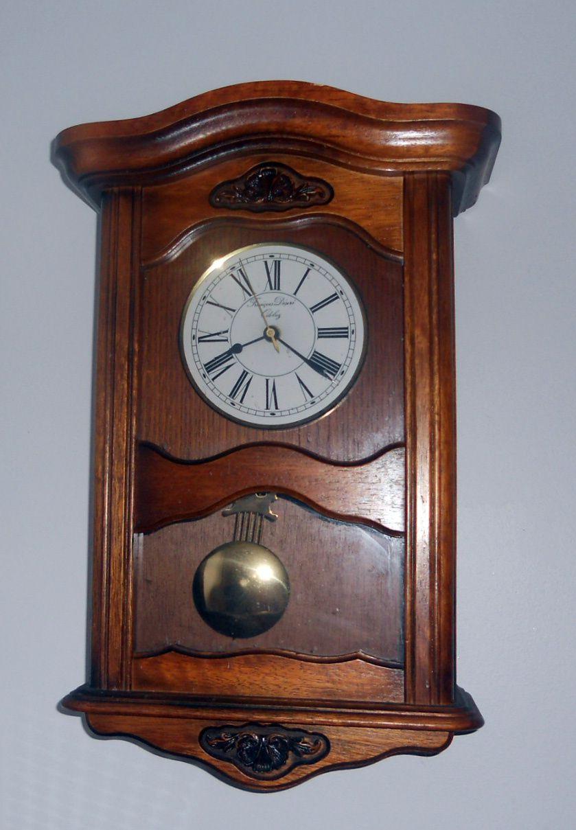 objet inanimé : une horloge