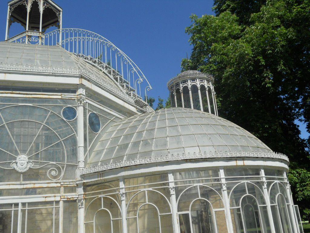 parc de Laurenzanne : la serre