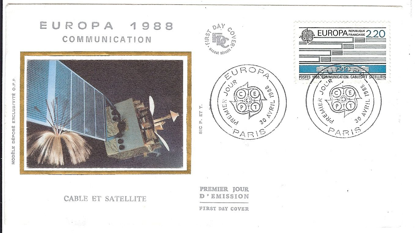 timbres Europa et timbre Airbus