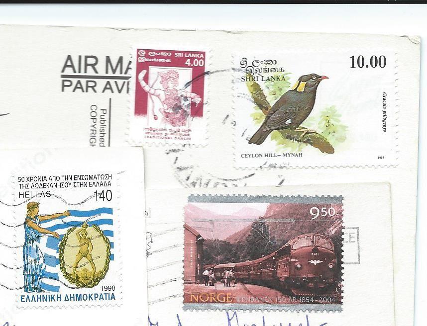 cartes et timbres de Lady M