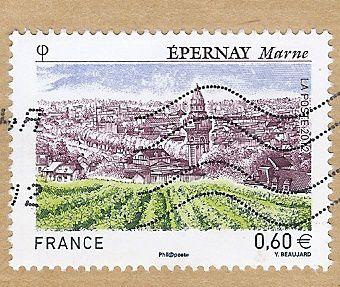 Epernay timbre N°4645