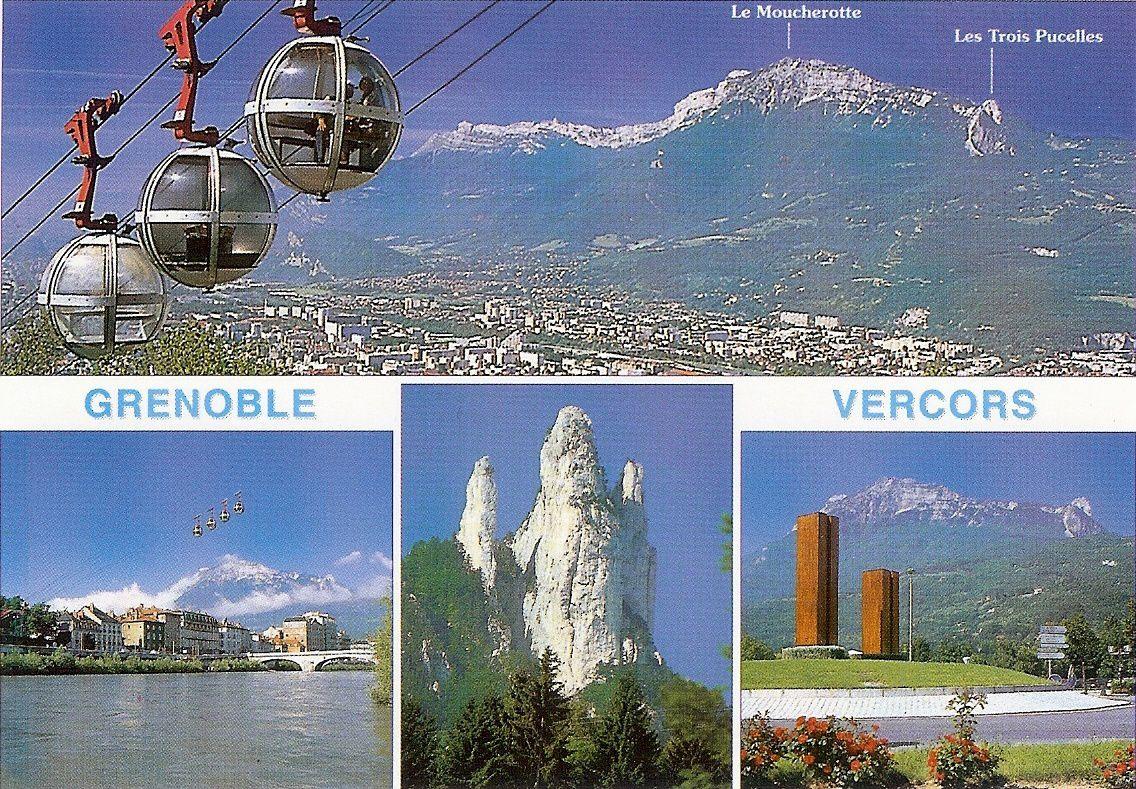 Grenoble , l'Isère et l'Alpe d'Huez