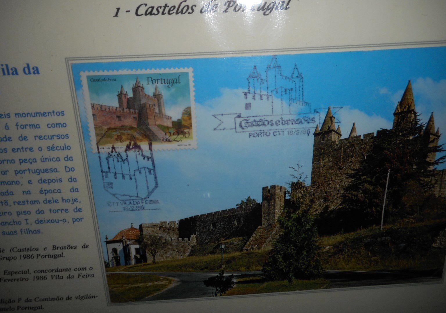 le Portugal Viano de Castello à Pessac &#x3B; philatélie