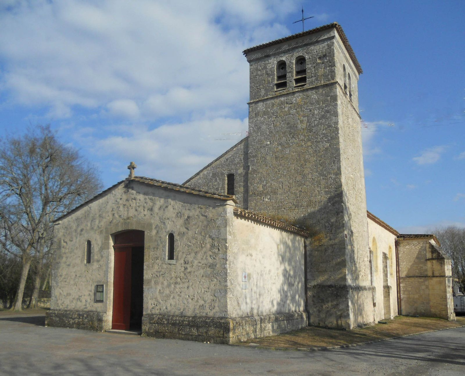 église Saint-Martin de Villenave d'Ornon Gironde