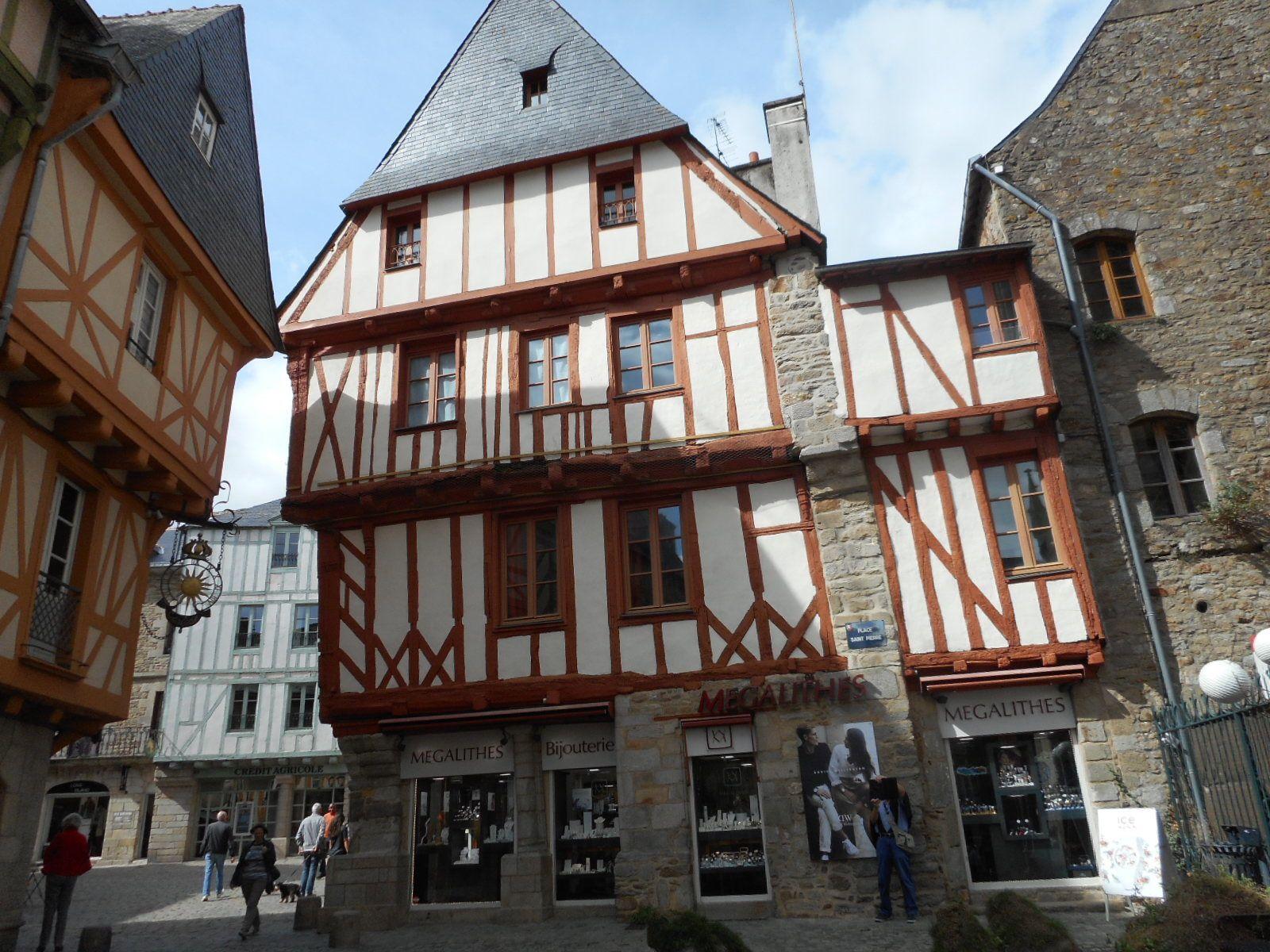Vannes une belle ville médiévale