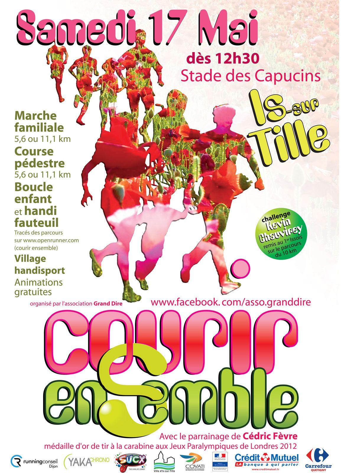 Samedi 17 mai - Courir Ensemble - Is sur Tille