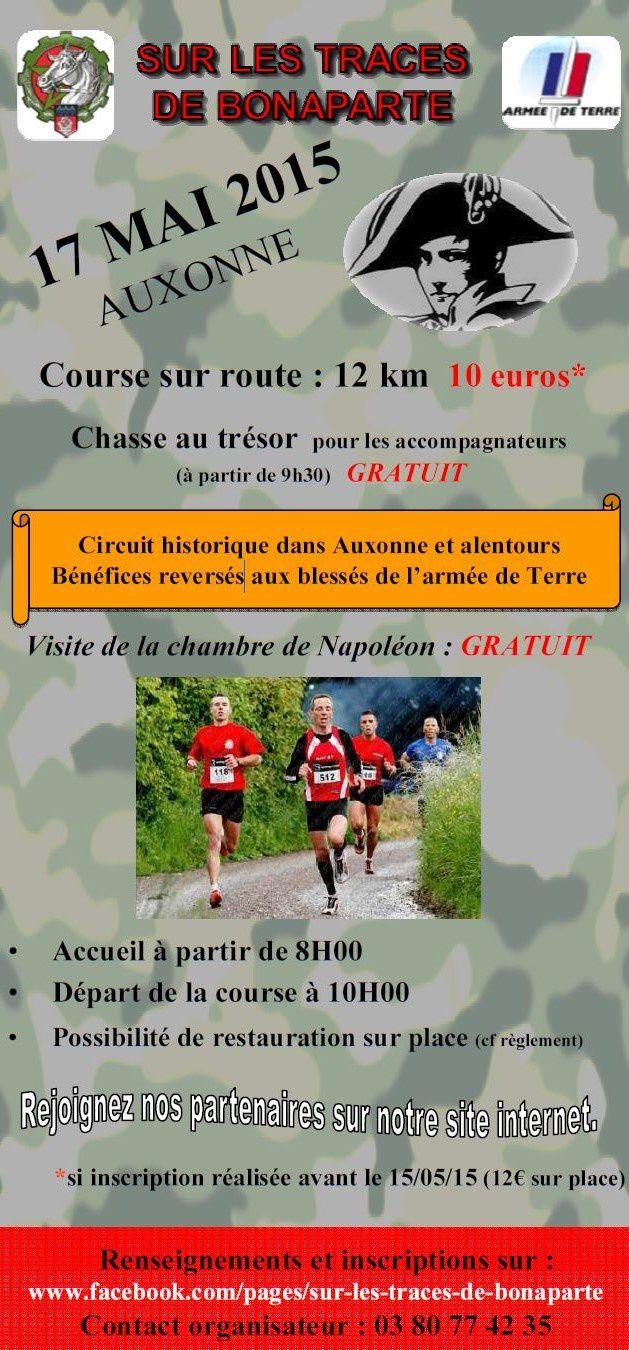 Dimanche 17 mai 2015 - Sur les Traces de Bonaparte - Auxonne