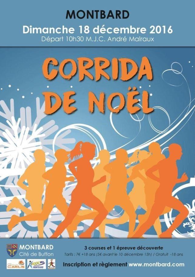 Dimanche 18 décembre 2016 - Corrida de Montbard