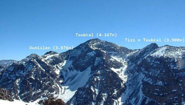 Le Toubkal.