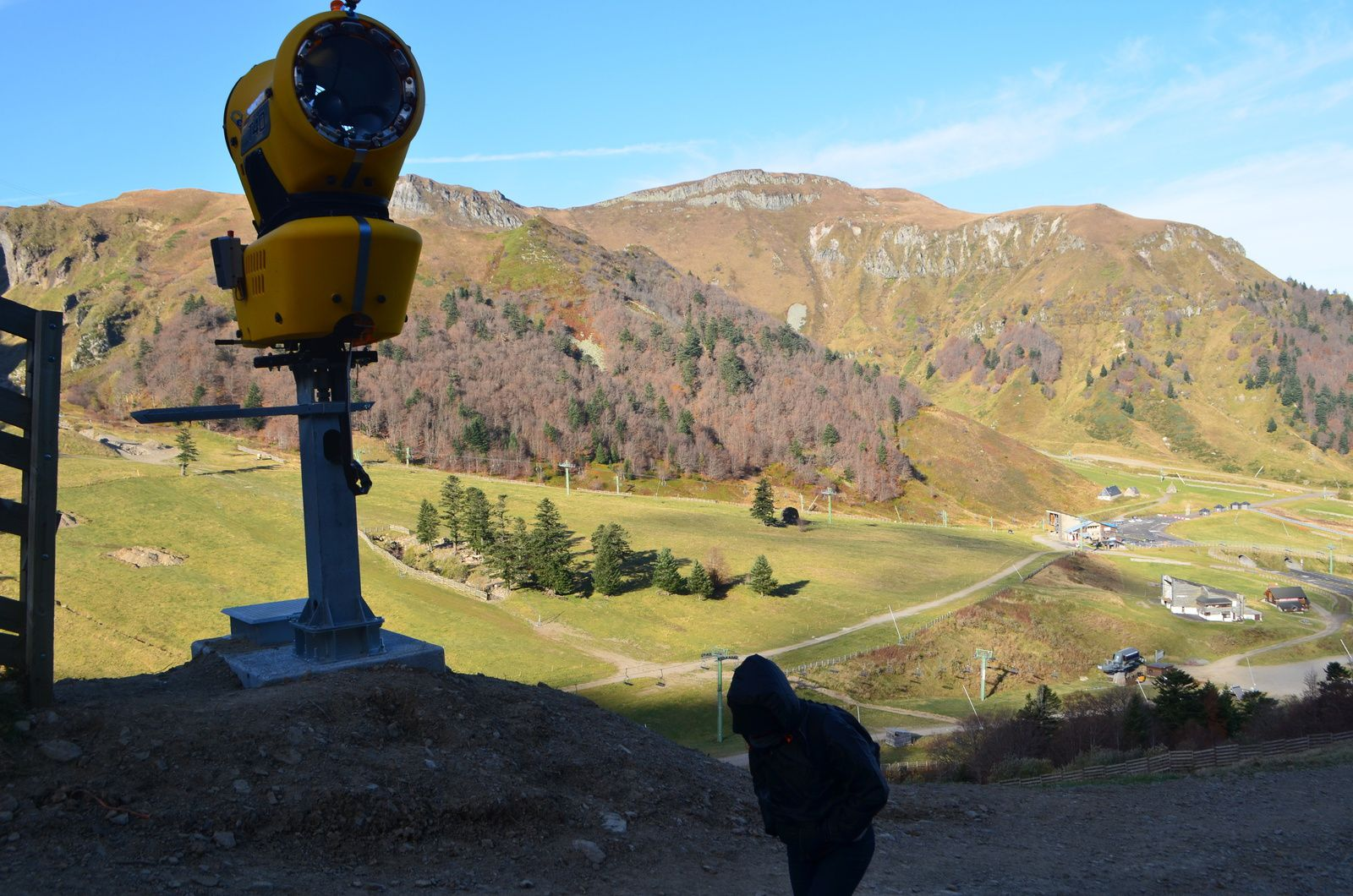 Au Puy de Sancy.