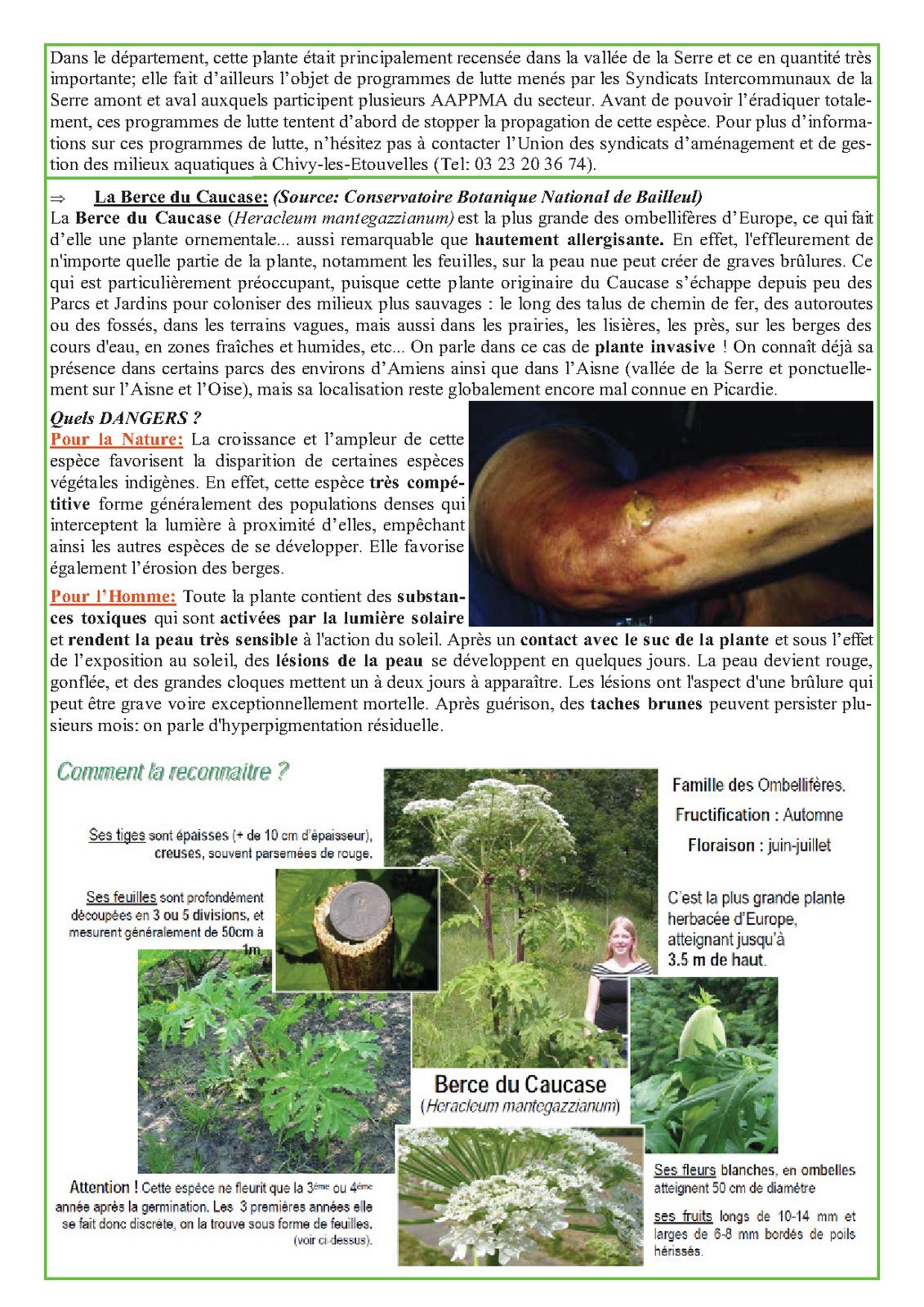 BULLETIN D'INFORMATION DE MES AMIS, PECHEURS DE L'AISNE.