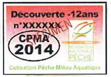 MONTANT DES CARTES DE PECHE 2014 DANS LE DEPARTEMENT DE SEINE-ET-MARNE.