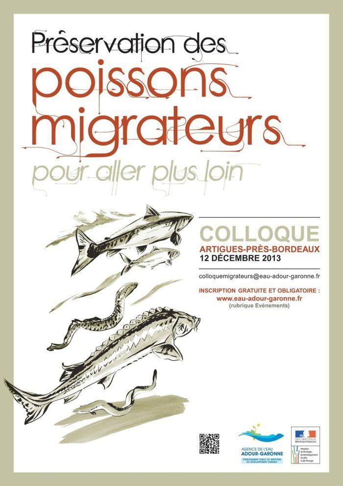COLLOQUE SUR LA PRESERVATION DES POISSONS MIGRATEURS.