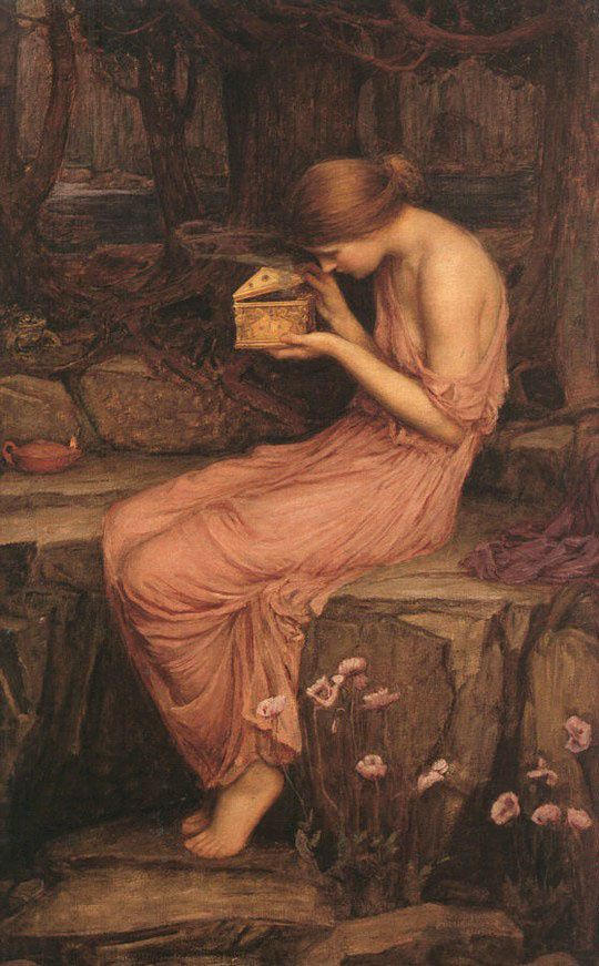 John William Waterhouse, « Psyche opening the golden box », 1903