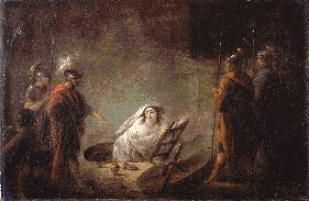 Gamelin - La vestale punie. URL: http://mythologica.fr/rome/religion/vestale.htm