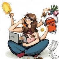 Image tirée d'un article de blog intitulé : « Comment tout concilier : vie de femme, d'épouse, de mère et vie professionnelle ? ».  [En ligne: http://www.stresspsychotherapie.fr/comment-tout-concilier-vie-de-femme-depouse-de-mere-et-vie-professionnelle/ ]
