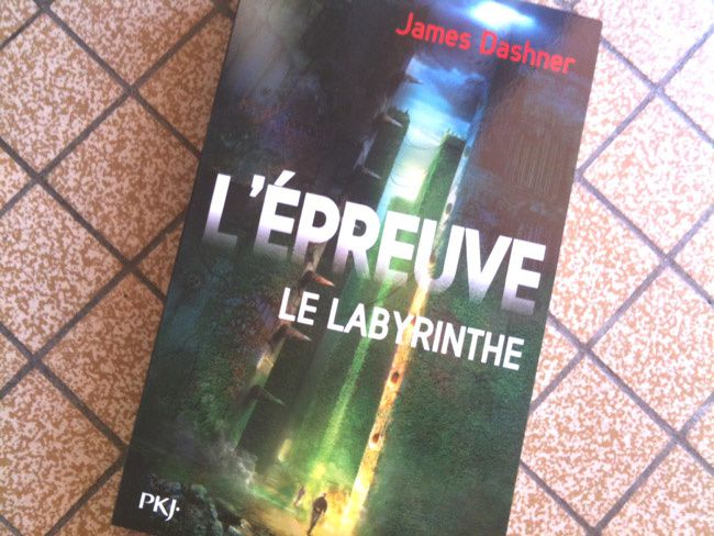 &quot&#x3B;L'épreuve, tome 1 : Le labyrinthe&quot&#x3B; de James Dashner