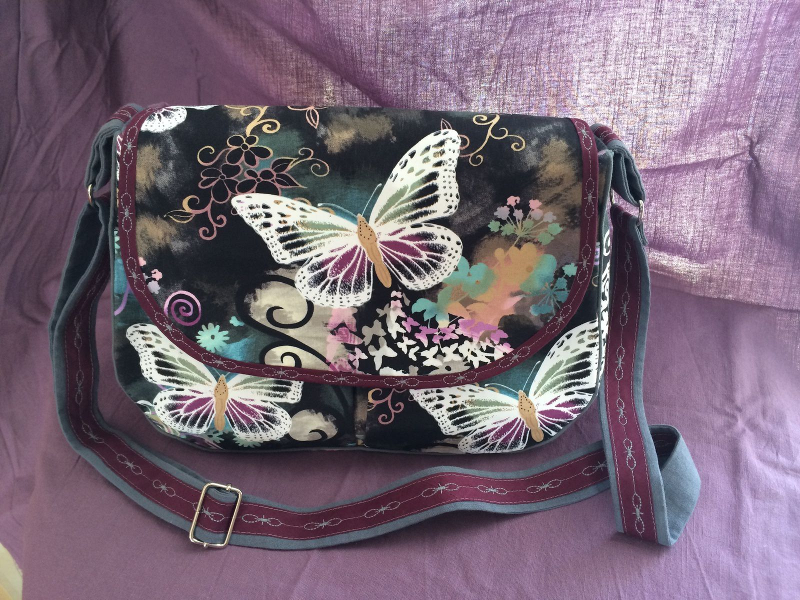 Sac butterfly