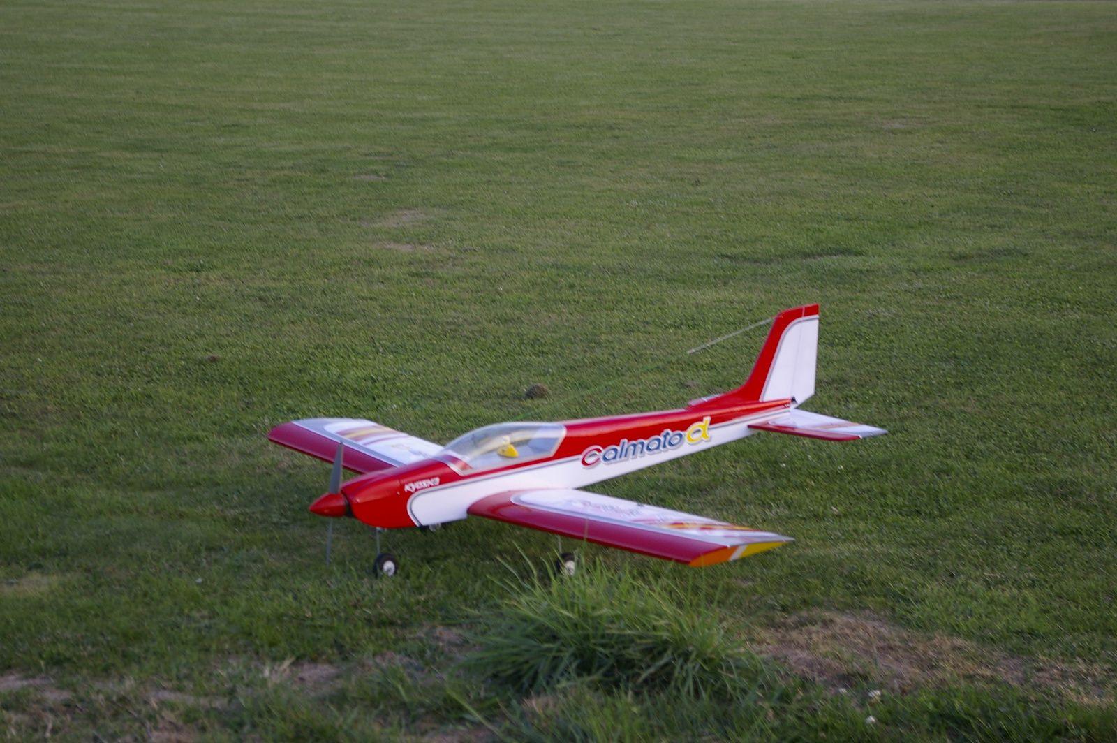 Premiers vols du Calmato 40