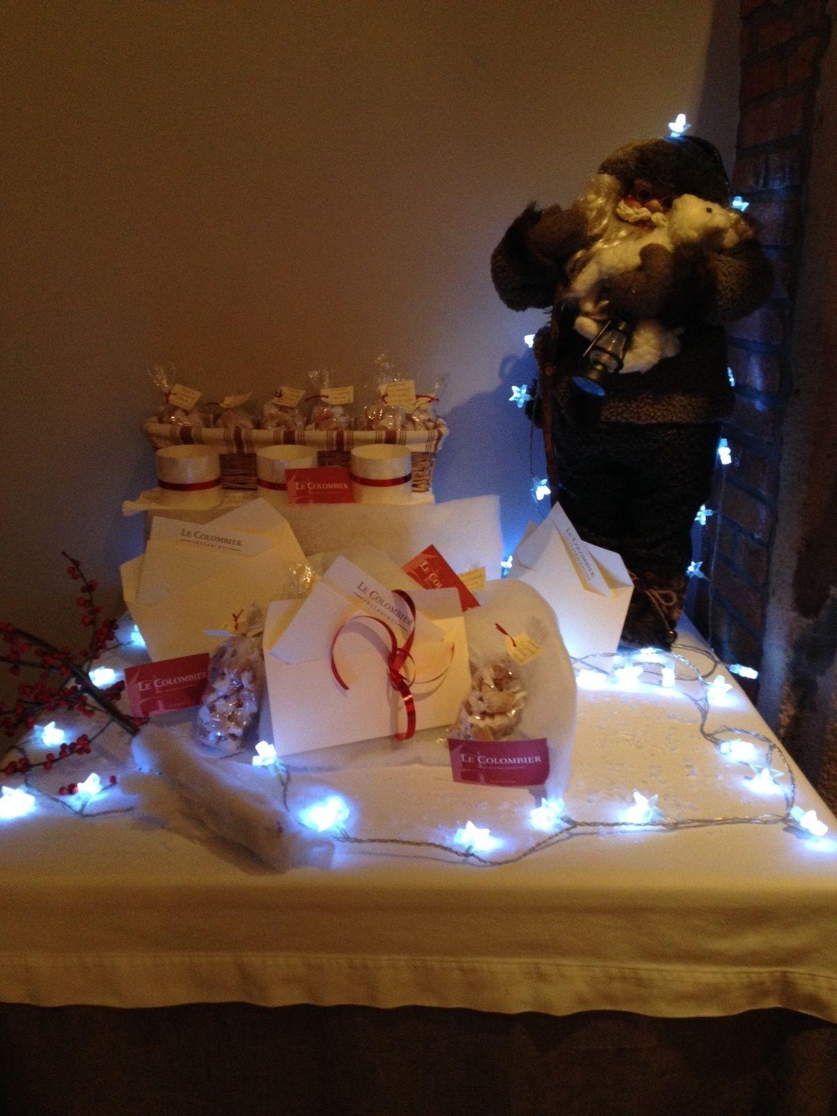 Fêtes de fin d'année restaurant le colombier offranville