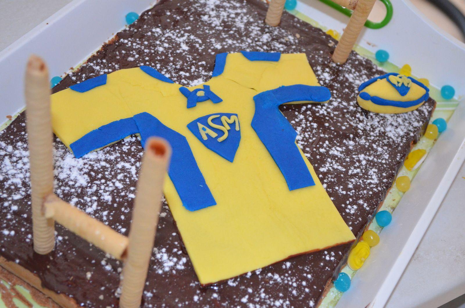Gâteau Danniversaire Esprit Asm Rugby Myl Et Une Idées Créatives