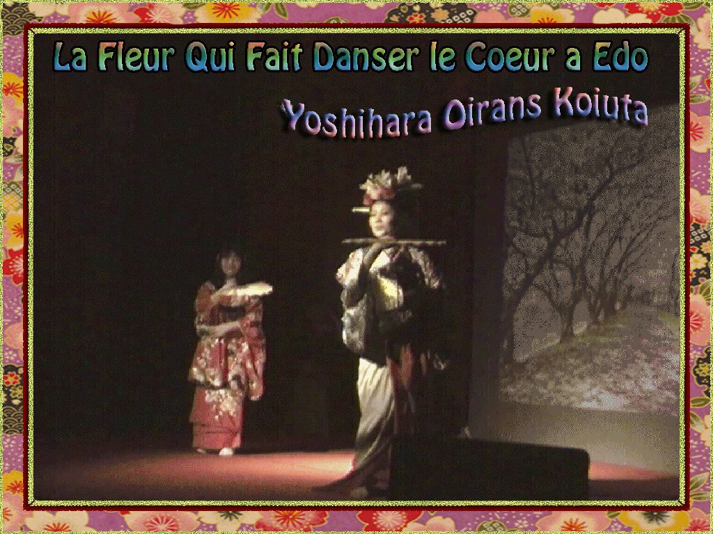 Festival Samurai japon - Part 4 - Flower Make Up Show
