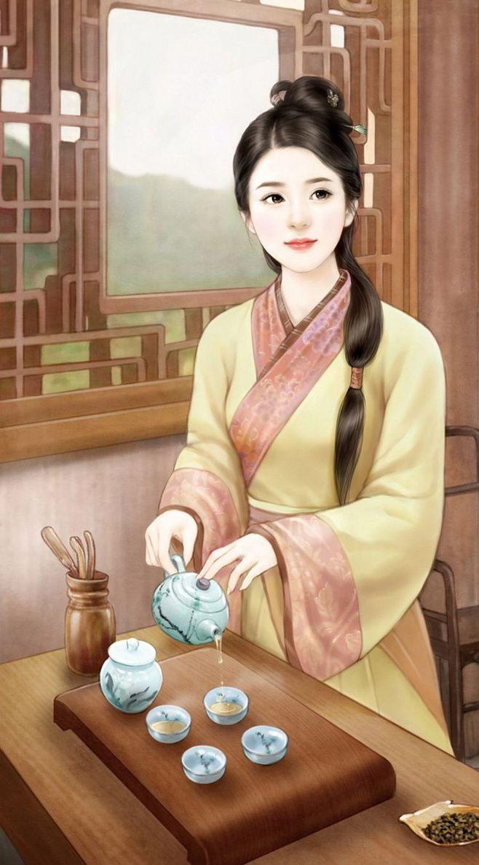 Antiques Beautées Chinoises - Les Paysannes
