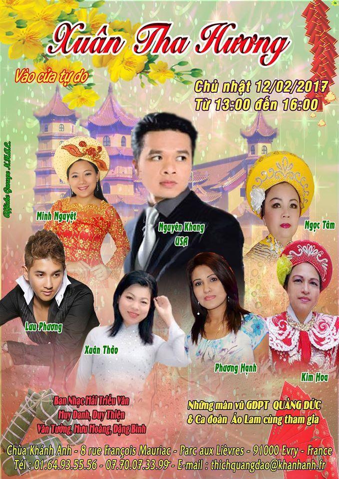 Tet à la pagode Khanh Hanh - Evry - Chants et Danse