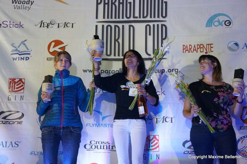Podium féminin. Bravo Seiko ! (photo Chéri)