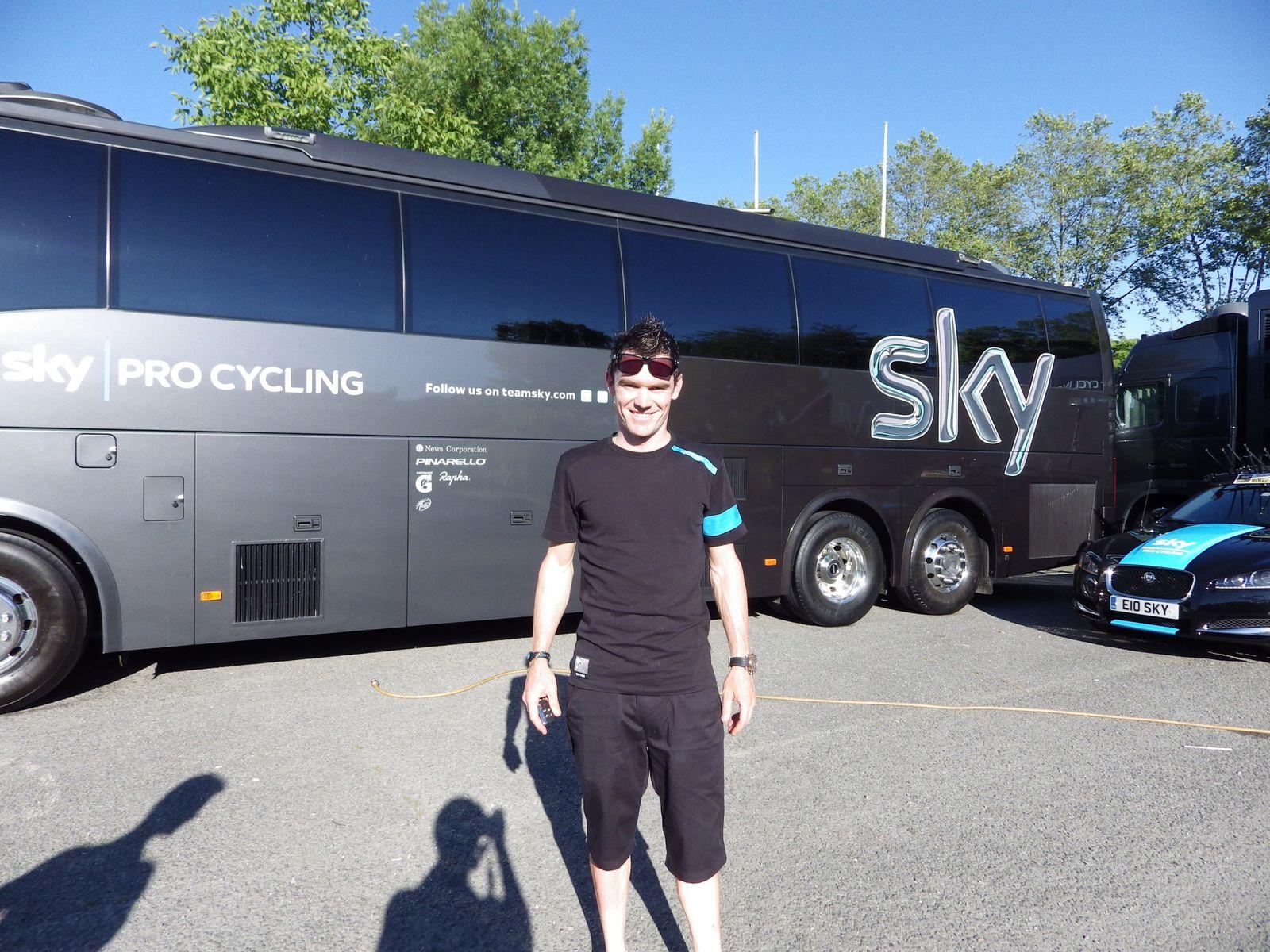 Chris Sutton (SKY) pourraient très bien remporter une victoire su sprint sur la Route du Sud.