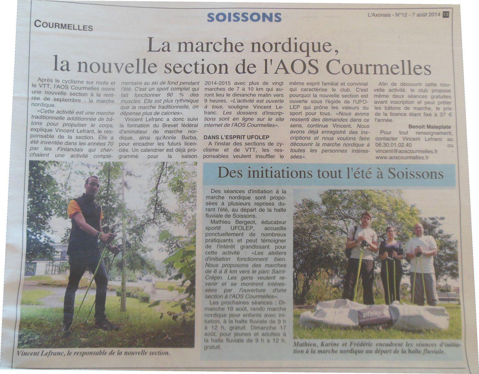 L'Axonais - Edition du 07/08/14