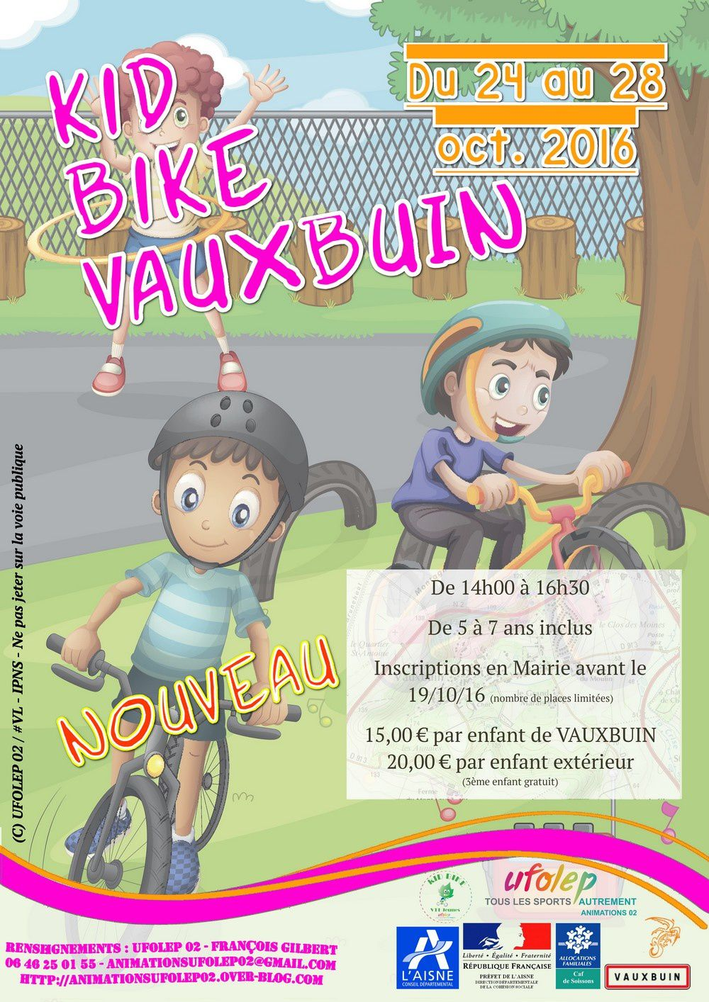 Kid Bike - VAUXBUIN - Octobre 2016
