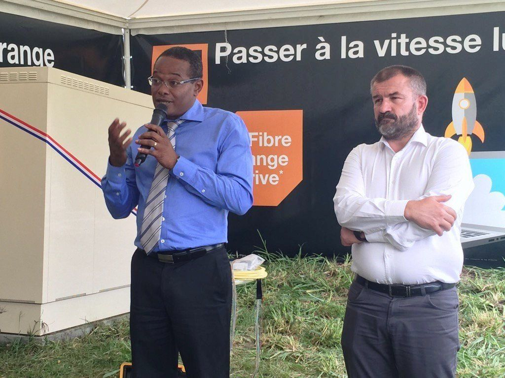 La fibre par Orange Caraïbe !