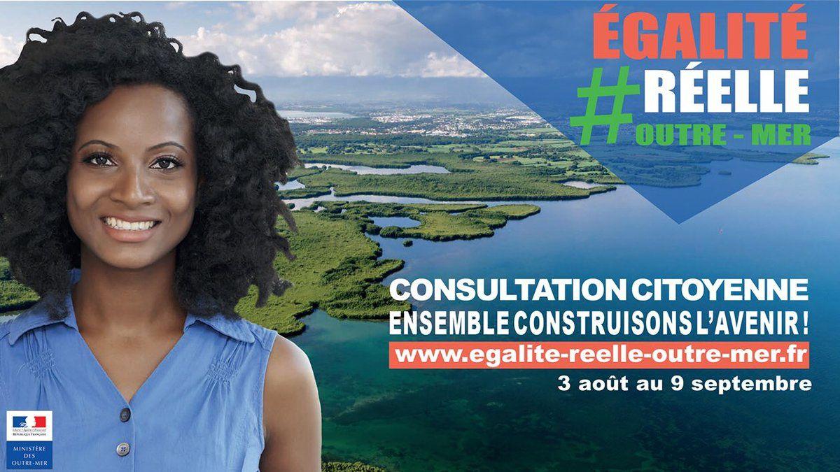 Egalité réelle : La Ministre des Outre-Mer organise une grande campagne participative