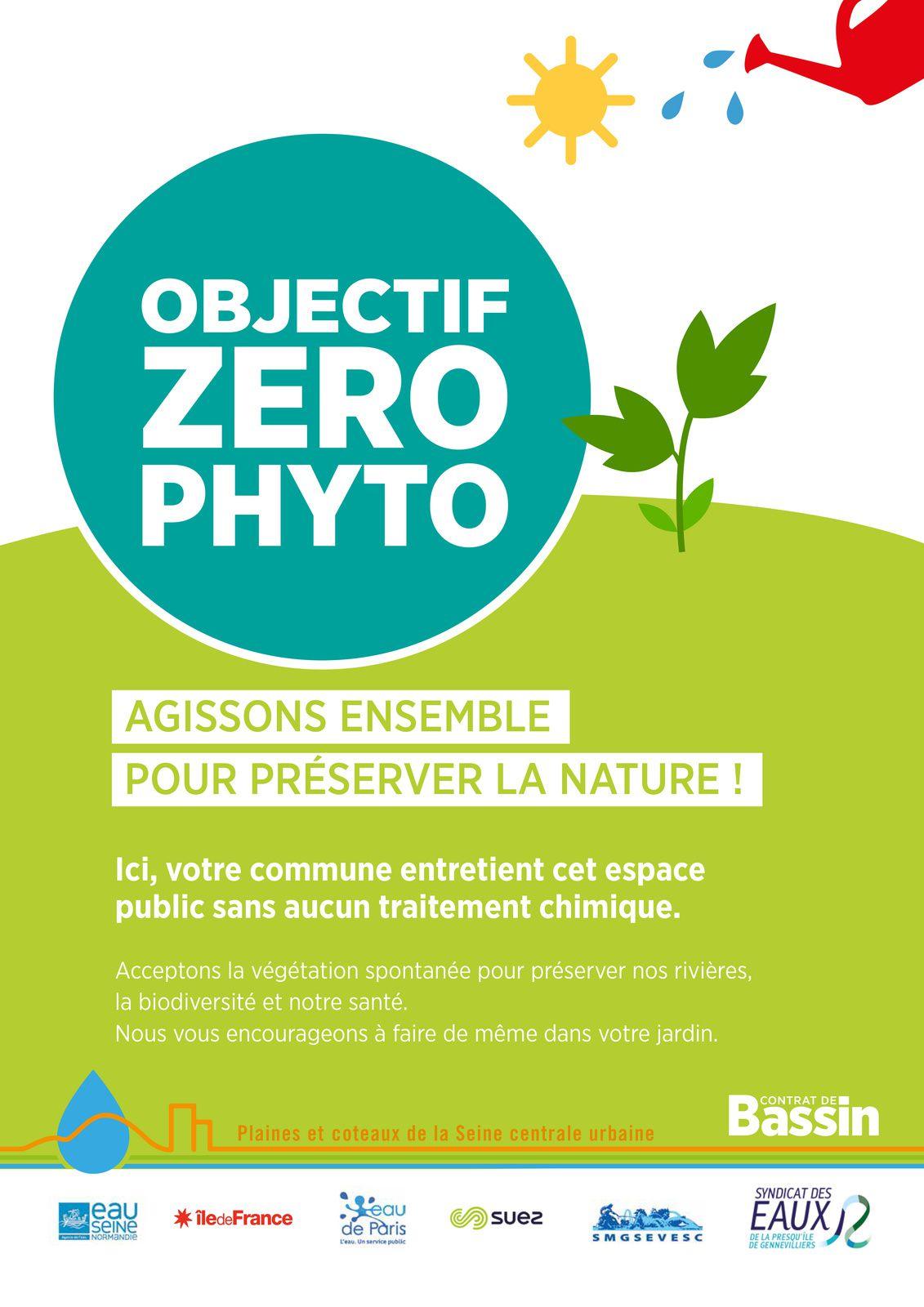 Adhésion de Colombes à la charte &quot&#x3B;Objectif Zéro Phyto en Seine Centrale Urbaine&quot&#x3B;