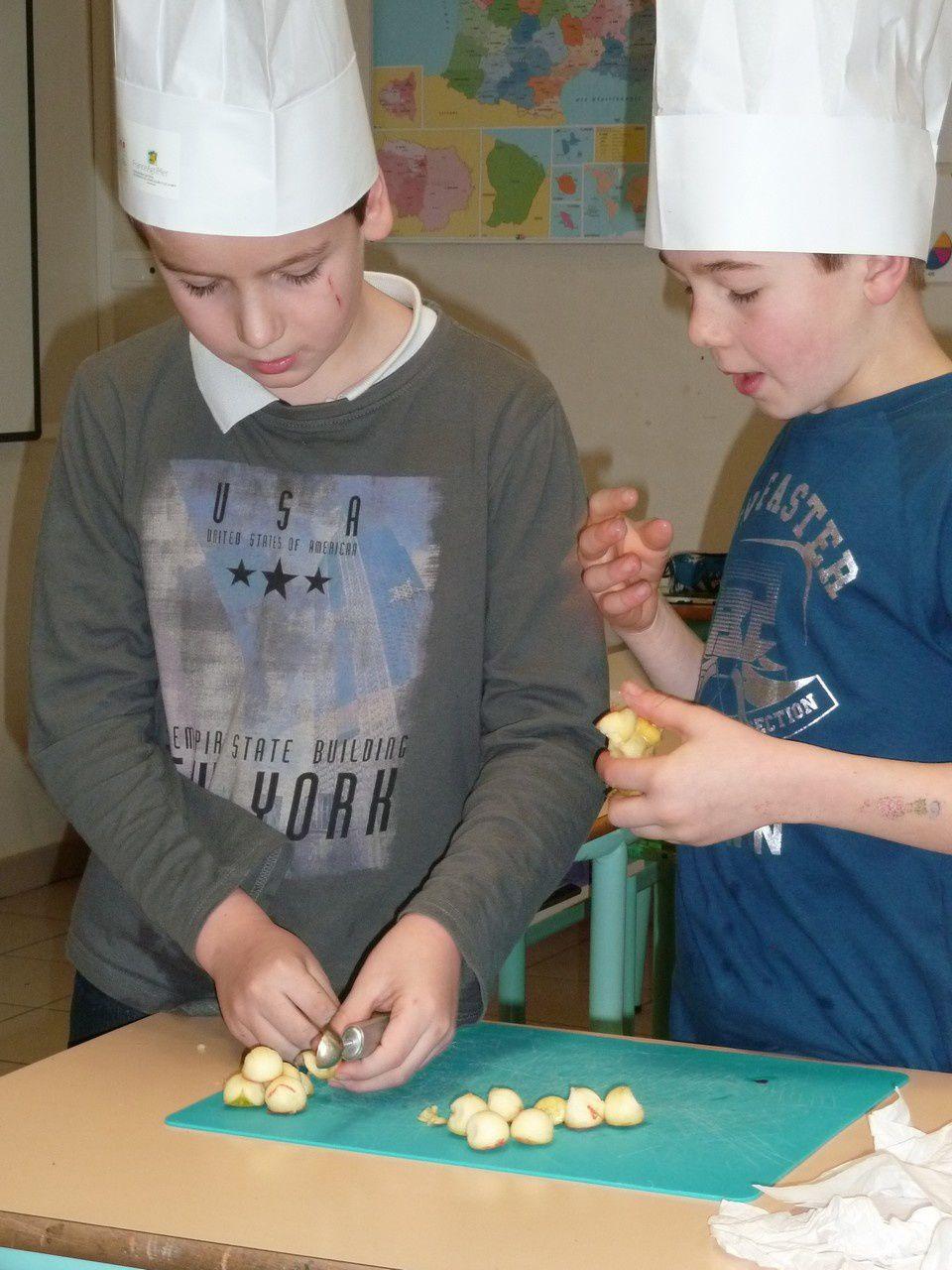 Ateliers culinaires avec Stéphane