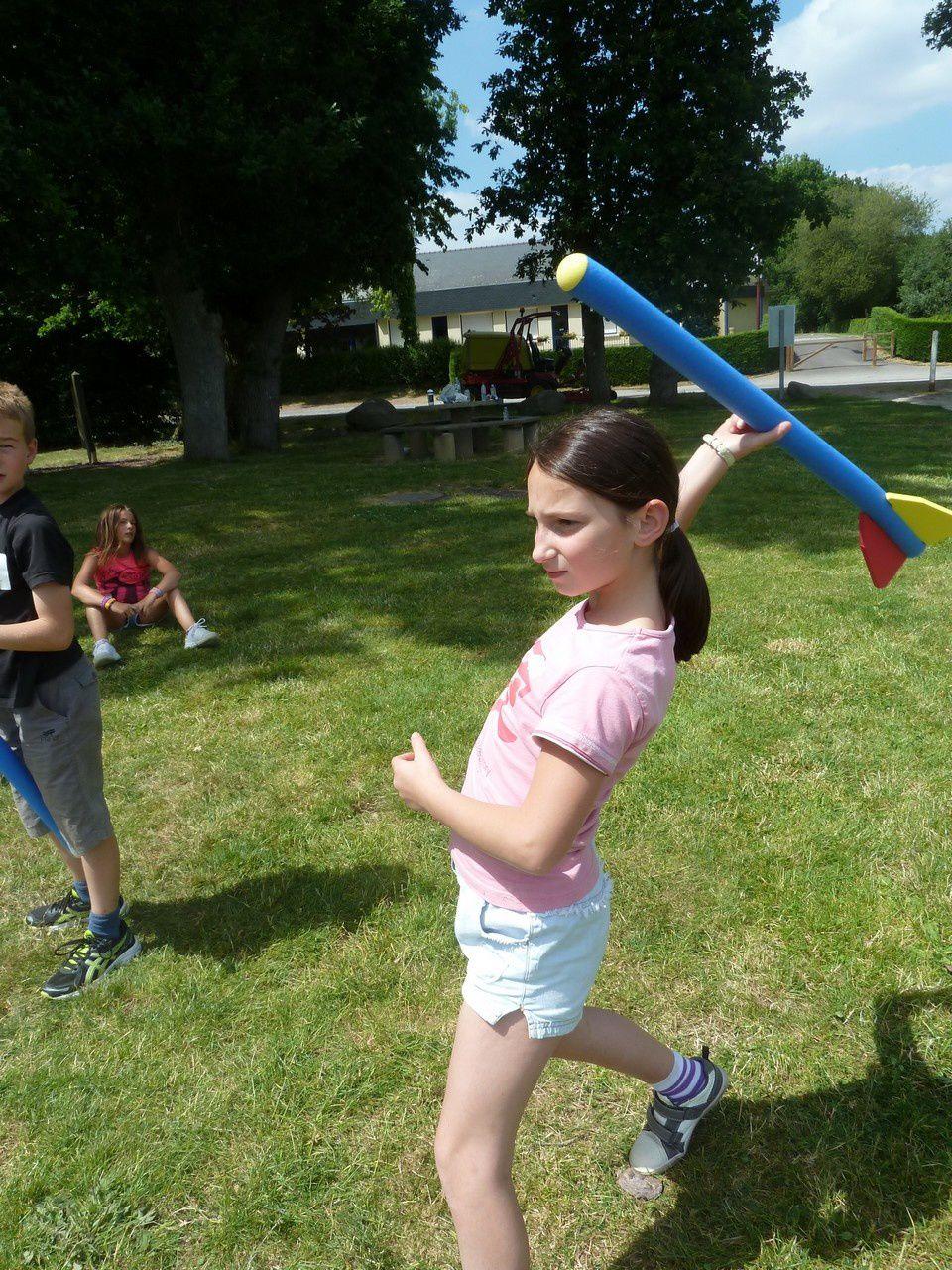 Athlétisme : LANCER